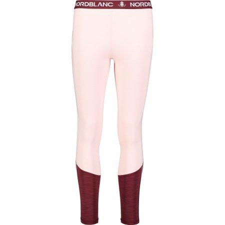 Dámské termo kalhoty NORDBLANC IMBUE NBBLU7102 KRÉMOVĚ RŮŽOVÁ