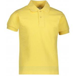 Dětské triko s límečkem JHK KID POLO LIGHT YELLOW