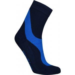 Sportovní kompresní ponožky NORDBLANC NBSX16374 NÁMOŘNICKÁ MODRÁ