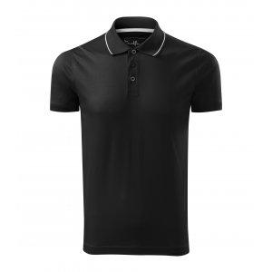 Pánské triko s límečkem MALFINI PREMIUM GRAND 259 ČERNÁ