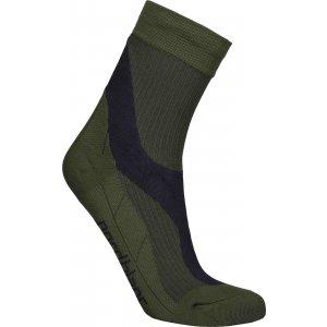 Sportovní kompresní ponožky NORDBLANC NBSX16374 KHAKI