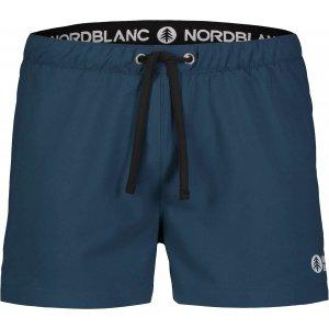 Pánské šortky NORDBLANC STALWART NBSPM7225 MODRÝ PAPRSEK