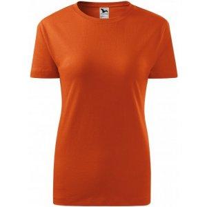 Dámské triko MALFINI CLASSIC NEW 133 ORANŽOVÁ