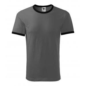 Pánské triko MALFINI INFINITY 131 TMAVÁ BŘIDLICE