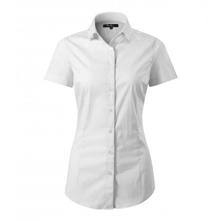 Dámská košile s krátkým rukávem MALFINI PREMIUM FLASH 261 BÍLÁ