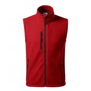 Pánská fleecová vesta MALFINI EXIT 525 ČERVENÁ