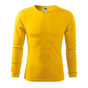 Pánské triko s dlouhým rukávem MALFINI FIT-T LS 119 ŽLUTÁ