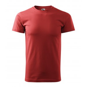 Pánské triko MALFINI BASIC 129 BORDÓ