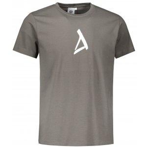 Pánské triko ALTISPORT ALM002129 TMAVÁ BŘÍDLICE