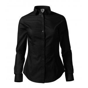 Dámská košile s dlouhým rukávem MALFINI STYLE LS 229 ČERNÁ