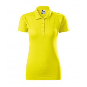 Dámské triko s límečkem MALFINI SINGLE J. 223 CITRONOVÁ