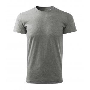 Pánské triko MALFINI BASIC FREE F29 TMAVĚ ŠEDÝ MELÍR