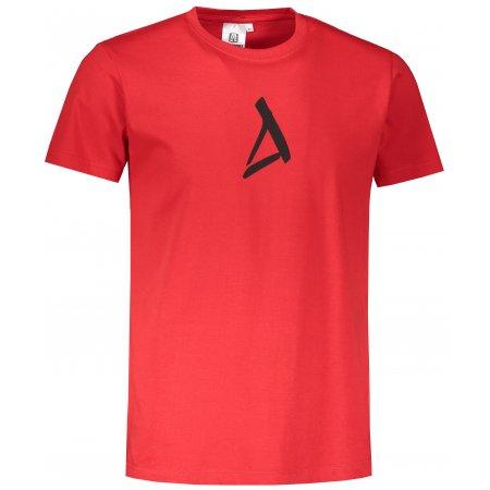 Pánské triko ALTISPORT ALM002129 ČERVENÁ