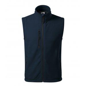 Pánská fleecová vesta MALFINI EXIT 525 NÁMOŘNÍ MODRÁ