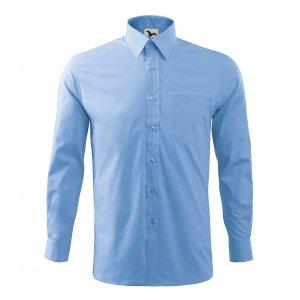 Pánská košile s dlouhým rukávem MALFINI STYLE LS 209 NEBESKY MODRÁ