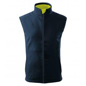 Pánská softshellová vesta MALFINI VISION 517 NÁMOŘNÍ MODRÁ