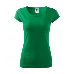 Dámské triko MALFINI PURE 122 STŘEDNĚ ZELENÁ