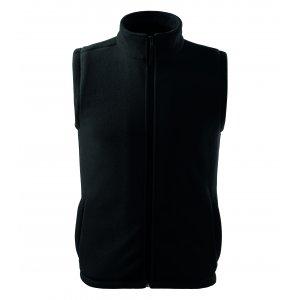 Pánská fleecová vesta RIMECK NEXT 518 ČERNÁ