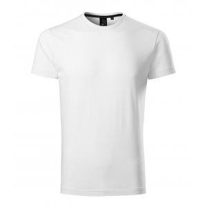 Pánské triko s krátkým rukávem MALFINI PREMIUM EXCLUSIVE 153 BÍLÁ