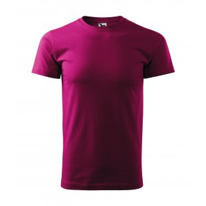 Pánské triko MALFINI BASIC 129 FUCHSIA RED