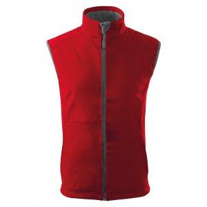Pánská softshellová vesta MALFINI VISION 517 ČERVENÁ