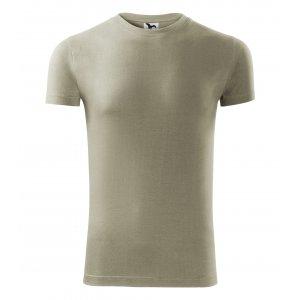 Pánské triko MALFINI VIPER 143 SVĚTLÁ KHAKI