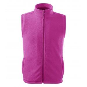 Pánská fleecová vesta RIMECK NEXT 518 FUCHSIA RED