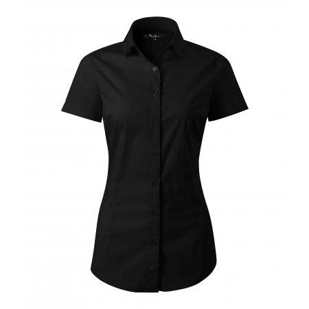 Dámská košile s krátkým rukávem MALFINI PREMIUM FLASH 261 ČERNÁ