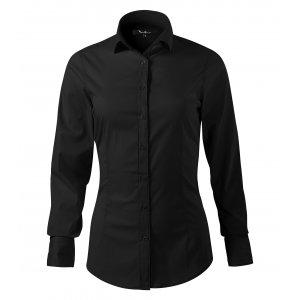 Dámská košile s dlouhým rukávem MALFINI PREMIUM DYNAMIC 263 ČERNÁ