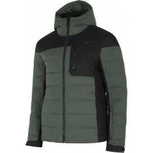 Pánská péřová bunda 4F D4Z20-KUMP205 GREY