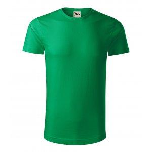 Pánské triko MALFINI ORIGIN 171 STŘEDNĚ ZELENÁ