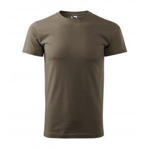 Pánské triko MALFINI BASIC 129 ARMY