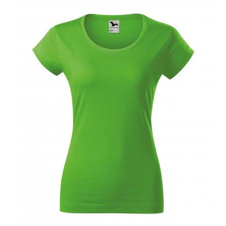 Dámské triko MALFINI VIPER 161 APPLE GREEN
