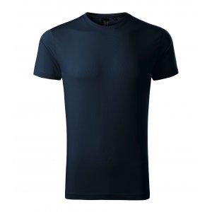 Pánské triko s krátkým rukávem MALFINI PREMIUM EXCLUSIVE 153 NÁMOŘNÍ MODRÁ
