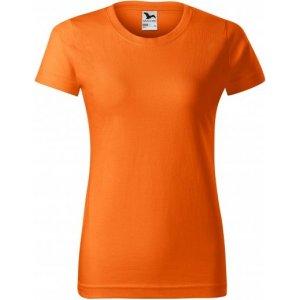 Dámské triko MALFINI BASIC 134 ORANŽOVÁ