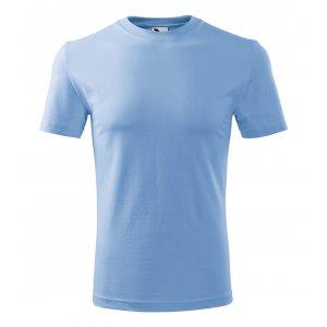 Pánské triko MALFINI CLASSIC NEW 132 NEBESKY MODRÁ