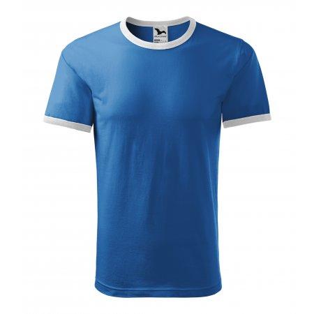Pánské triko MALFINI INFINITY 131 AZUROVĚ MODRÁ