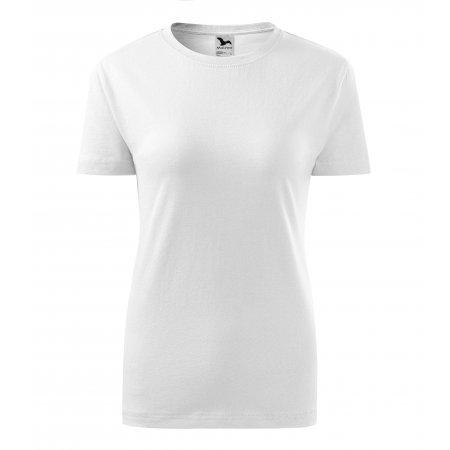 Dámské triko MALFINI CLASSIC NEW 133 BÍLÁ