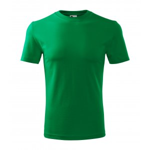 Pánské triko MALFINI CLASSIC NEW 132 STŘEDNĚ ZELENÁ
