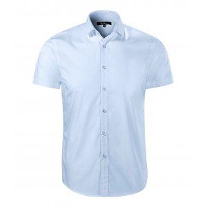 Pánská košile s krátkým rukávem MALFINI PREMIUM FLASH 260 LIGHT BLUE