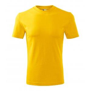 Pánské triko MALFINI CLASSIC 101 CLASSIC ŽLUTÁ
