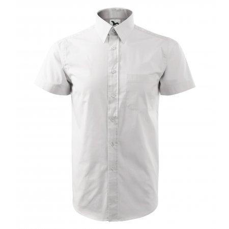 Pánská košile s krátkým rukávem MALFINI CHIC 207 BÍLÁ