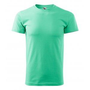Pánské triko MALFINI BASIC 129 MÁTOVÁ