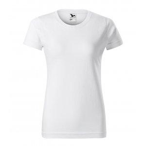 Dámské triko MALFINI BASIC 134 BÍLÁ