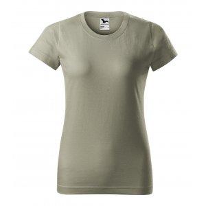 Dámské triko MALFINI BASIC 134 SVĚTLÁ KHAKI