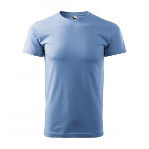 Pánské triko MALFINI BASIC 129 NEBESKY MODRÁ