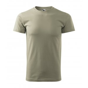 Pánské triko MALFINI BASIC 129 SVĚTLÁ KHAKI