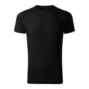 Pánské triko s krátkým rukávem MALFINI PREMIUM EXCLUSIVE 153 ČERNÁ