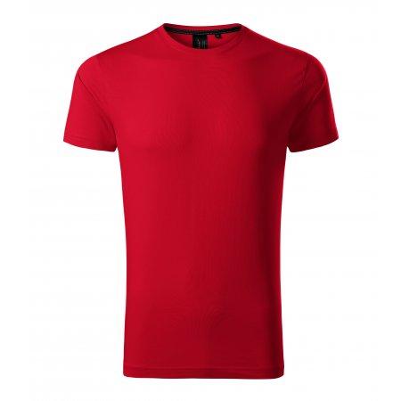 Pánské triko s krátkým rukávem MALFINI PREMIUM EXCLUSIVE 153 FORMULA RED