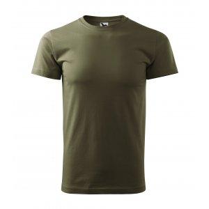Pánské triko MALFINI BASIC 129 MILITARY